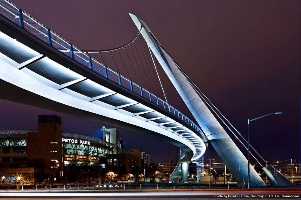 2f6ad796093ee Harbor Drive Pedestrian Bridge - LARSA Client and Projects Portfolio