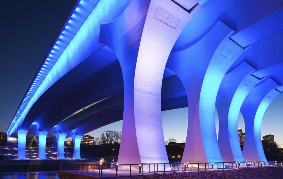 14bfaf390f47b Harbor Drive Pedestrian Bridge. T.Y. Lin International. I-35W Bridge