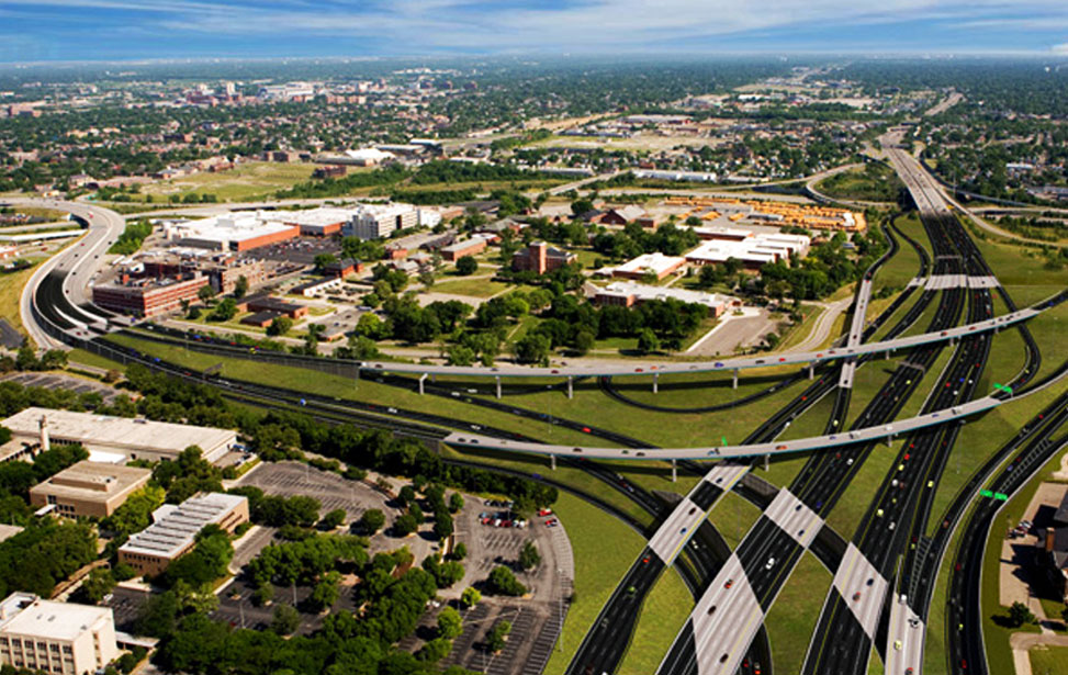 I-71/I-670 Columbus Crossroads Interchange