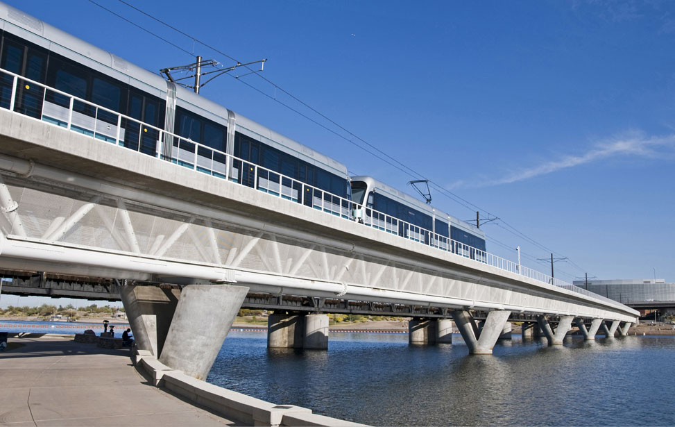 Tempe Town Lake Light Rail Bridge
