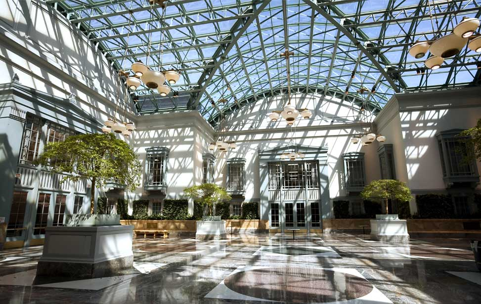 Winter Garden Atrium, University of Chicago